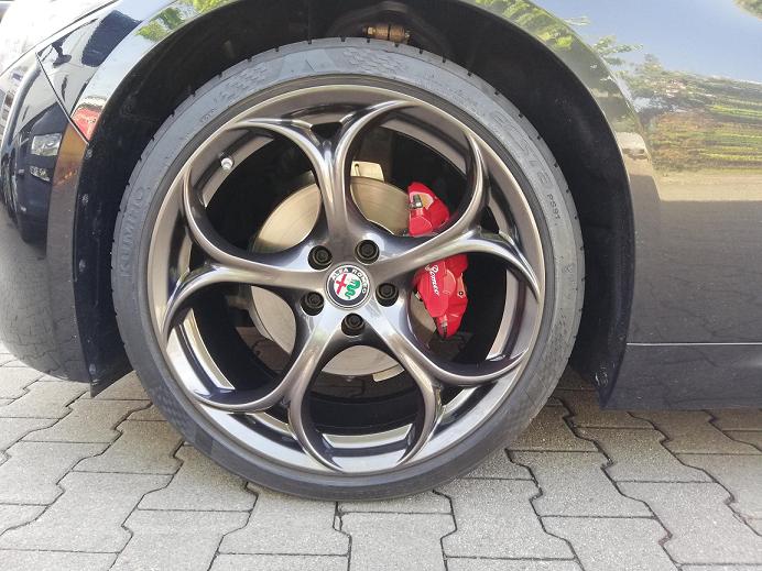 Alfa Romeo Felge QV Classico 19 Zoll
